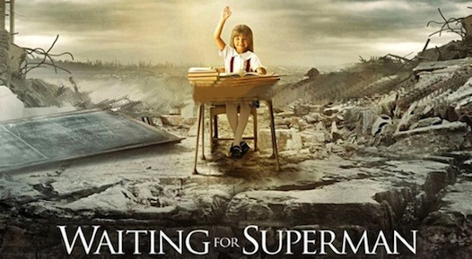 waiting for superman | poster