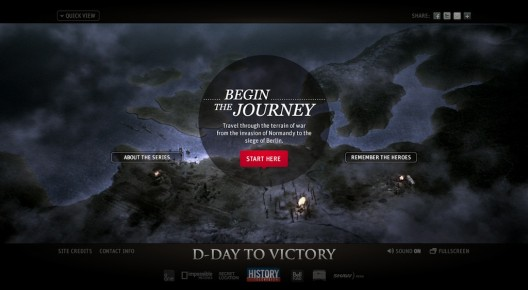 d-day to victory website